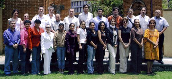 Generación 2007 de Tlahui-Educa, durante la Semana Universitaria de Medicina Tradicional, Cuernavaca, Morelos, México